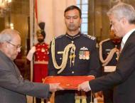 Envoys designate of Morocco, Kyrgyzstan present credentials