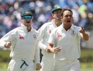Cricket: Smith proud of O'Keefe after big Aussie win