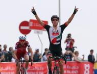 Cycling: Costa wins Abu Dhabi mountain stage