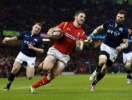RugbyU: Six Nations - Wales lead Scotland 13-9 at half-time
