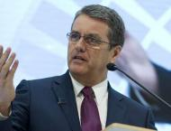 Re-elected WTO chief warns of 'challenging times'