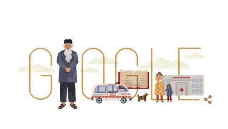 Google pays tribute to Abdul Sattar Edhi
