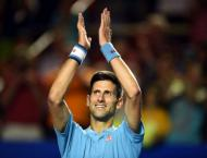 Djokovic through in Mexico on return
