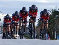Cycling: BMC win Tirreno opener in record time
