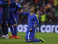 Football: 'Best ever' Neymar hails historic Barcelona