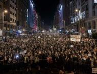 International Women's Day in Madrid draws 40,000 protesters