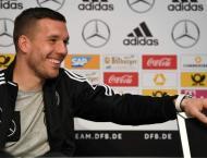 Football: Podolski captains Germany on farewell against England