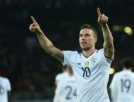 Football: Podolski hits Germany winner against England to sign of ..