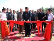 Cambodia inaugurates China funded national road
