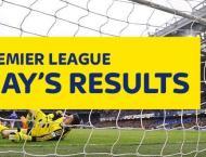 Football: English Football League results