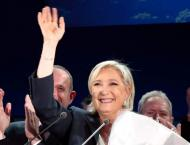 France's Le Pen hails 'historic' result after reaching runoff