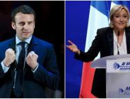New French polls show Macron easily beating Le Pen in run-off