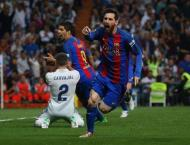Messi hits Barca 500 with last gasp El Clasico winner