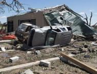 Storms in US South and Midwest kill at least 14