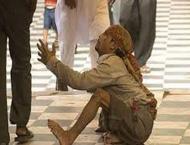 Professional beggars on roads in Ramazan
