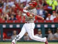 Reds' Gennett belts four homers in rare MLB feat