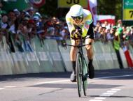 Cycling: Warbasse wins Swiss 4th stage, Caruso in yellow