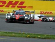 Motor racing: Nakajima shades Le Mans warm-up