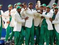 ICC Champion Trophy winning team due home early Tuesday
