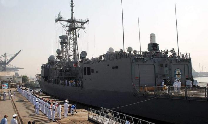 PLA (Navy) War Ships arrive on goodwill visit