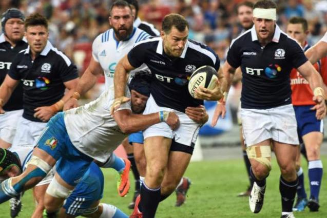 RugbyU: Scotland 34 Italy 13