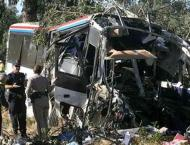 6 killed, 7 injured in bus-tanker collision in western India
