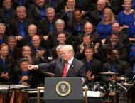 Trump tweets provocative partisan song for Independence Day