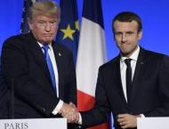 Trump says 'something could happen' on Paris climate accord