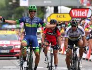 Cycling: Matthews at the double on Tour de France stage 16