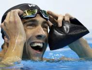 Swimming: 'Phelps v shark' race has US team glued
