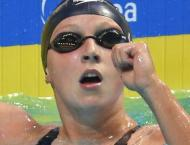 Swimming: Ledecky wins historic 12th world champs gold
