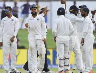 Cricket: India thrash Sri Lanka in 1st Test