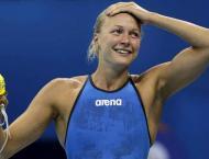 Sjostrom wins women's 50m butterfly world gold