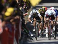 Cycling: Sagan wins first stage since Tour de France expulsion