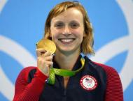 Swimming: Katie Ledecky wins 14th world gold