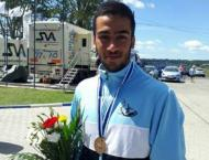 Canoeist collects Iran's 1st ever medal at U23 World C'ships