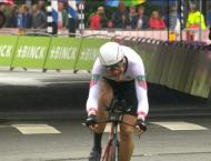 Cycling: Boom ends two-year stage wait, takes overall BinckBank T ..