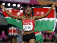 Athletics: Kenya's Obiri wins women's 5,000 metres title