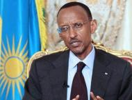 Rwanda's Kagame sworn in for third term