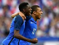 Football: Mbappe in, Dembele out for France