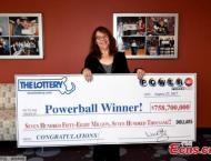 US hospital worker claims 759 million lottery jackpot