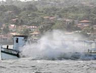 39 people drowned in two ferry wrecks in Brazil