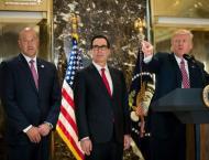 Top aide breaks ranks with Trump on neo-Nazis
