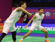 Badminton: Giant-killers Ahsan, Saputro into world final