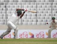 Cricket: Bangladesh 133-3 at lunch against Australia