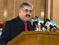 Restoration of peace Govt's top priority: Zehri