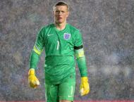 Football: Goalkeeper Pickford out of England squad