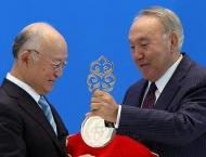 Kazakhstan inaugurates IAEA-backed nuclear fuel bank