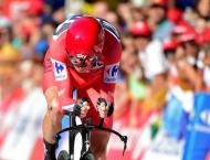 Cycling: Froome wins time trial for commanding Vuelta lead