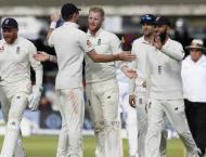 Cricket: England v West Indies 3rd Test scoreboard